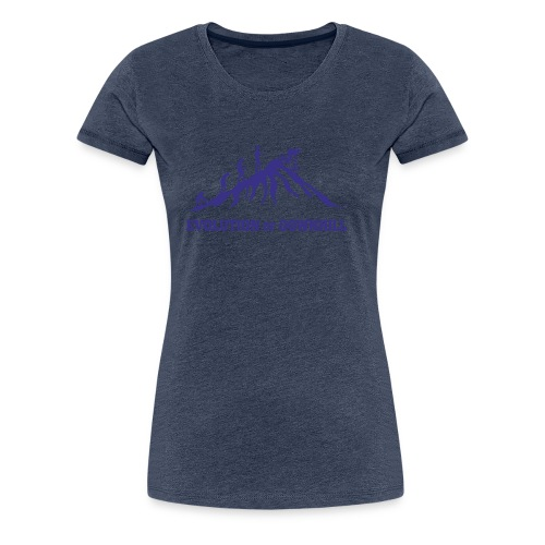 Evolution Downhill Biking - Frauen Premium T-Shirt