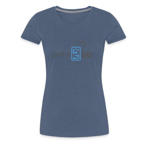 selfie2go - Frauen Premium T-Shirt