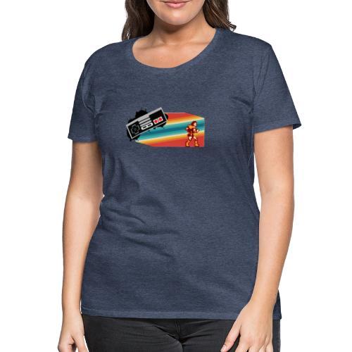 NES 80s CASTLEVANIA - Camiseta premium mujer