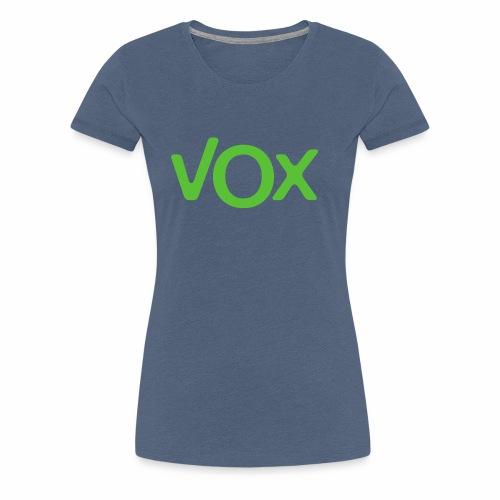 VOX - Camiseta premium mujer