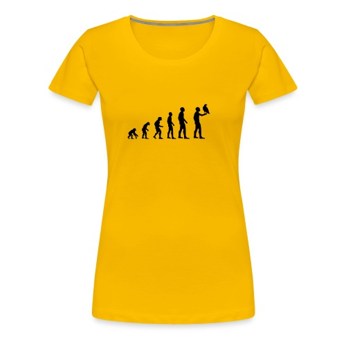 Evolution Falkner - Frauen Premium T-Shirt
