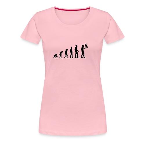 Evolution Falkner - Frauen Premium T-Shirt