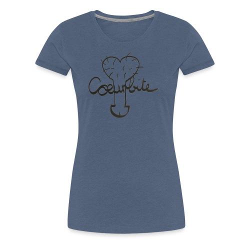Coeurbite - T-shirt Premium Femme