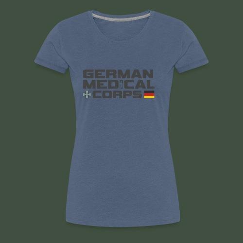 Germany Medical Corps - Frauen Premium T-Shirt