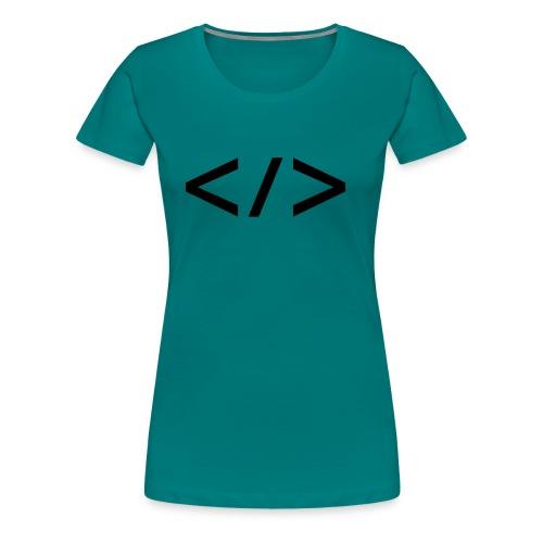 Webdev - Frauen Premium T-Shirt