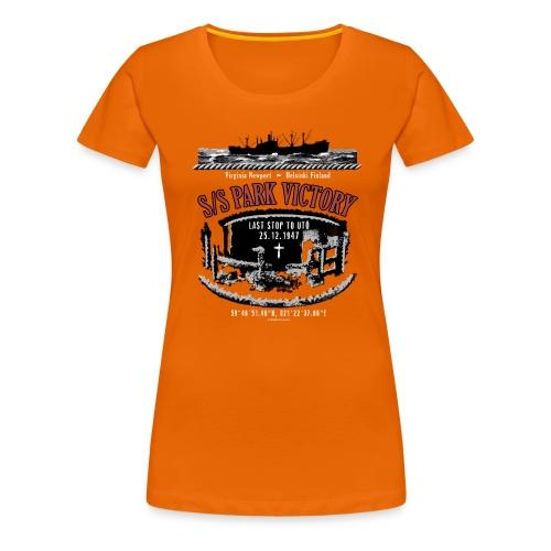 PARK VICTORY LAIVA - Tekstiilit ja lahjatuotteet - Naisten premium t-paita