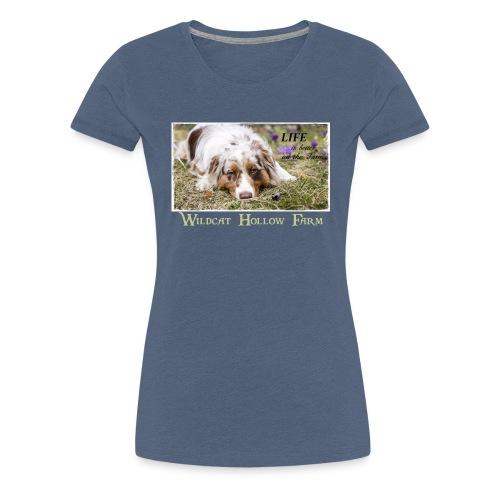 Life on the farm 2 - Frauen Premium T-Shirt