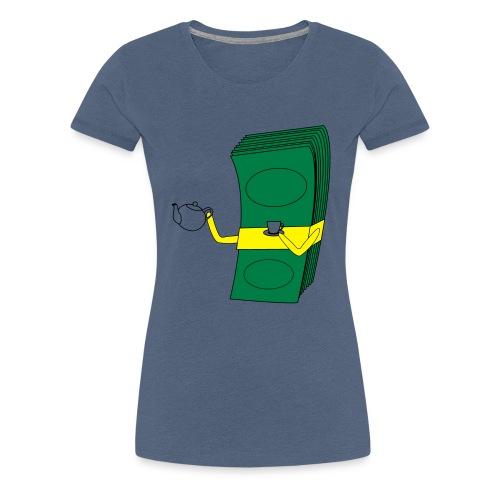 KeepCalmDrinkTea - Frauen Premium T-Shirt