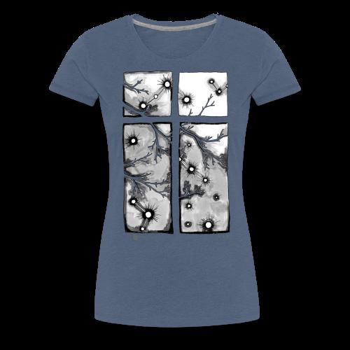 Für immer und ein Tag (grau) - Frauen Premium T-Shirt