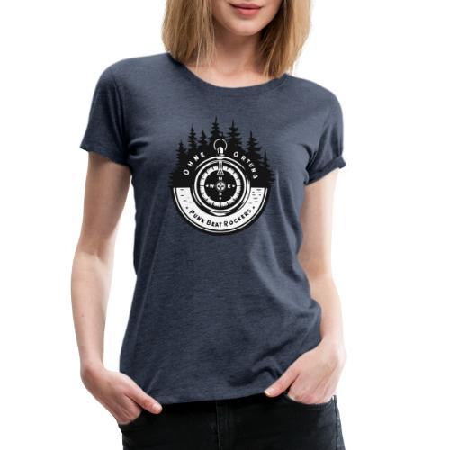 PBR Kompass 🧭 - Frauen Premium T-Shirt