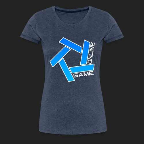 Gameonline Luvtröja Premium Unisex - Premium-T-shirt dam