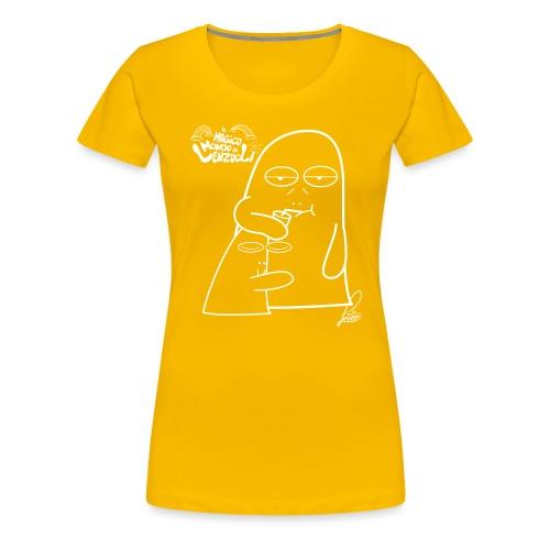 Lenzuolo con bibita - Maglietta Premium da donna