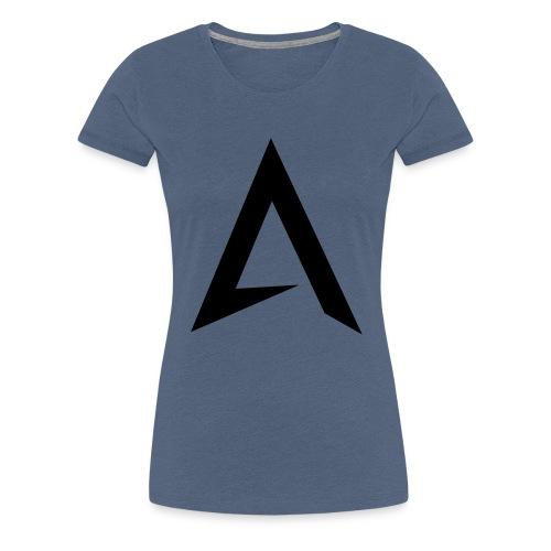 alpharock A logo - Women's Premium T-Shirt