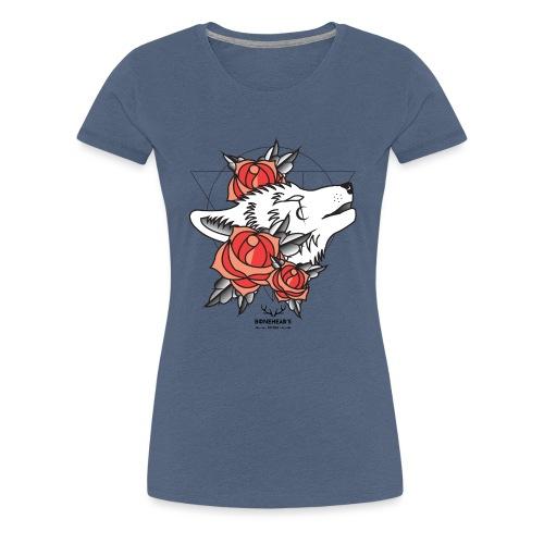 Wolfhead - Women's Premium T-Shirt