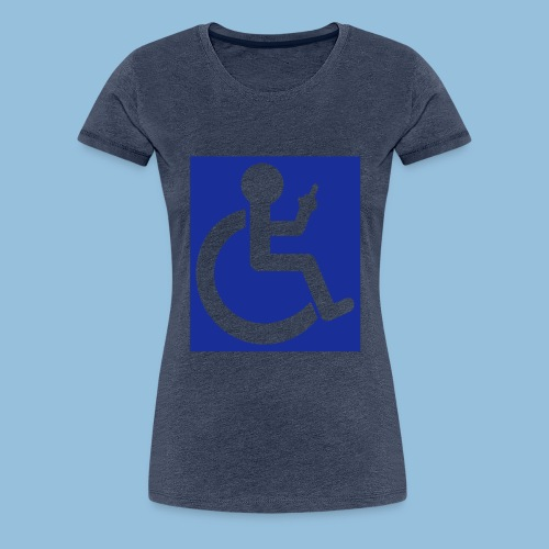 VINGER - Vrouwen Premium T-shirt