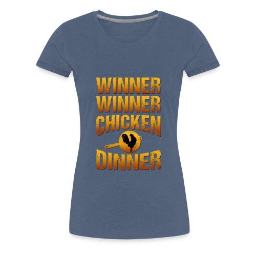 Winner Winner Chickendinner - Frauen Premium T-Shirt
