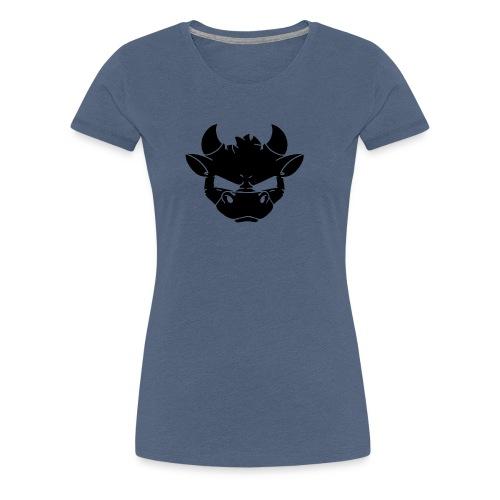MUH La silueta - Camiseta premium mujer