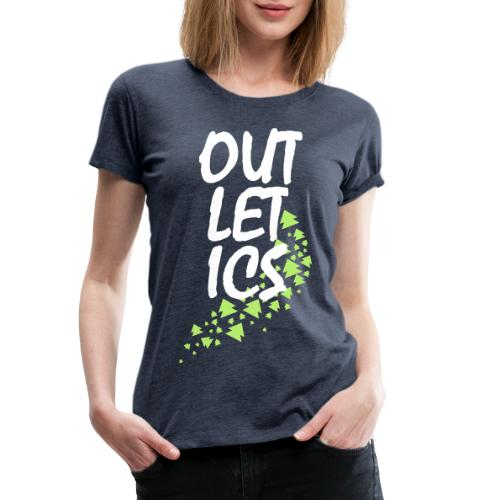 outletics girlie - Frauen Premium T-Shirt