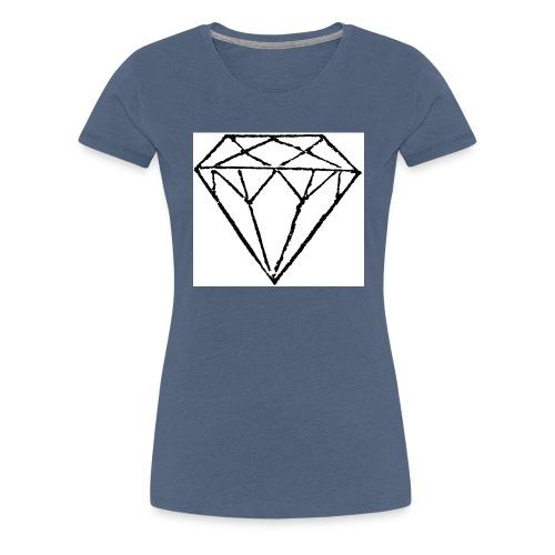 Diamond - Premium-T-shirt dam