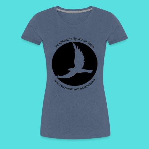 (difficult_new) - Frauen Premium T-Shirt