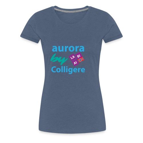 Aurora by Colligere - Premium T-skjorte for kvinner