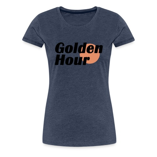 Golden Hour logo - Women's Premium T-Shirt