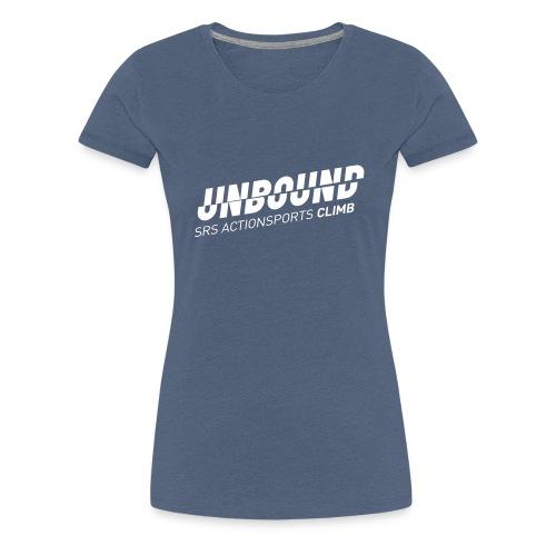 UNBOUND_CLIMB_WEISS - Frauen Premium T-Shirt