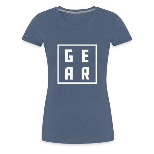 GearWear Sweatshirt | Man Black - Vrouwen Premium T-shirt
