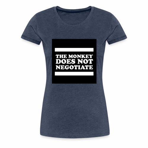 monkey - Women's Premium T-Shirt