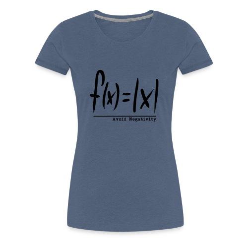 f(x)=|x| - Frauen Premium T-Shirt