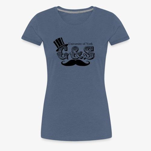 Gilbert and Sullivan Logo - Women's Premium T-Shirt