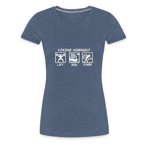 Viking Workout! Tank top - Women's Premium T-Shirt