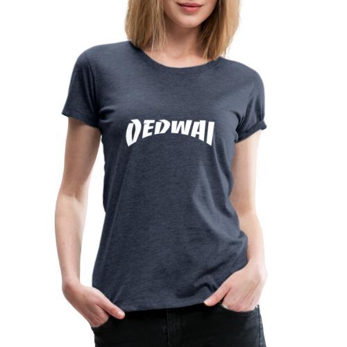 Thrasher Blanc - T-shirt Premium Femme