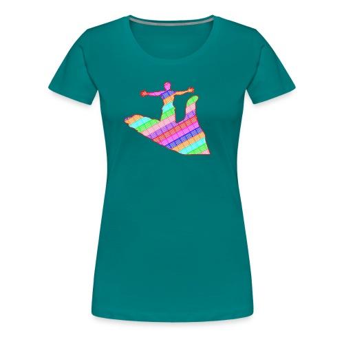 main - T-shirt Premium Femme