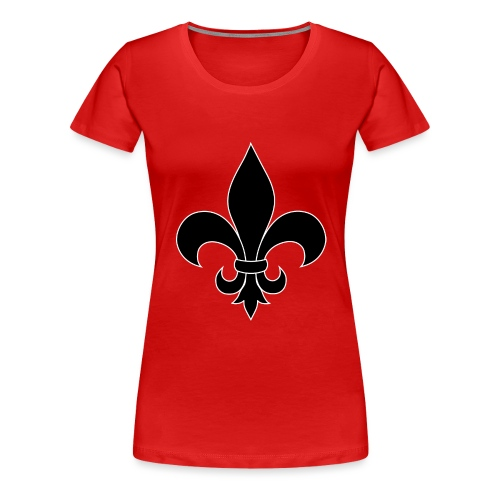 ranskan lilja - Naisten premium t-paita