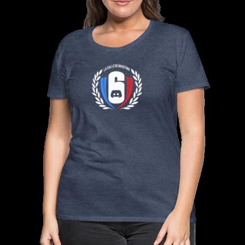 Logo LaSalleDeBriefing - T-shirt Premium Femme