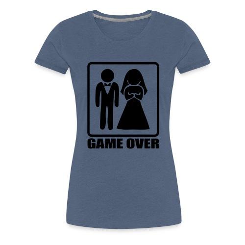 Mariage game over - T-shirt Premium Femme
