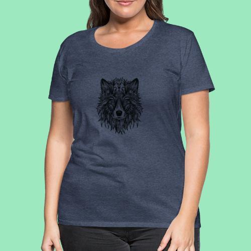 bohemian Wolf T-shirt - Vrouwen Premium T-shirt