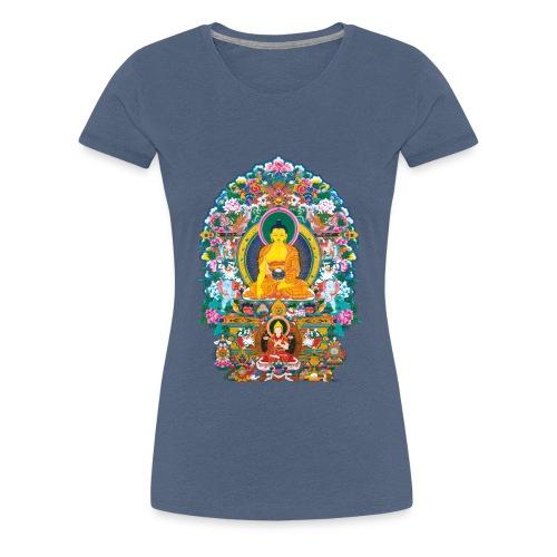 Buddha Shakyamuni Tsongkhapa - Koszulka damska Premium