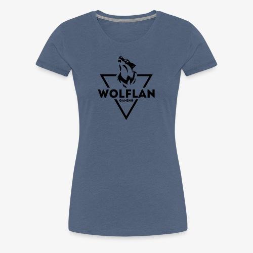 WolfLAN Gaming Logo Black - Women's Premium T-Shirt