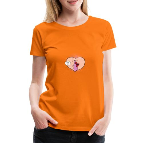 Je t'aime - T-shirt Premium Femme