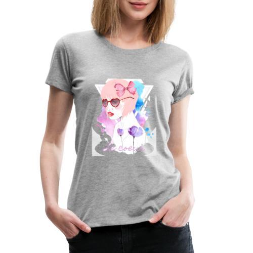 Le coeur - T-shirt Premium Femme