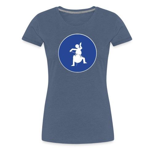 Znak playcelloobw - Koszulka damska Premium