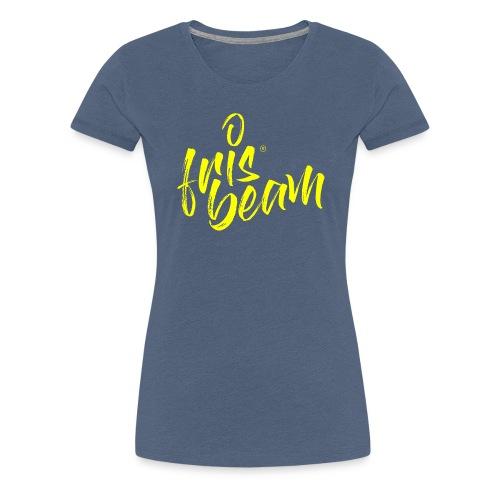 Frisbeam Jaune - T-shirt Premium Femme