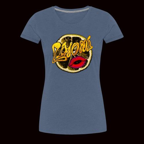 Lemon - Maglietta Premium da donna