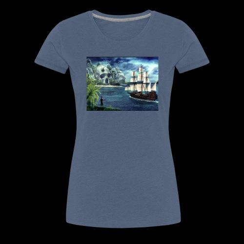 Isola - Maglietta Premium da donna