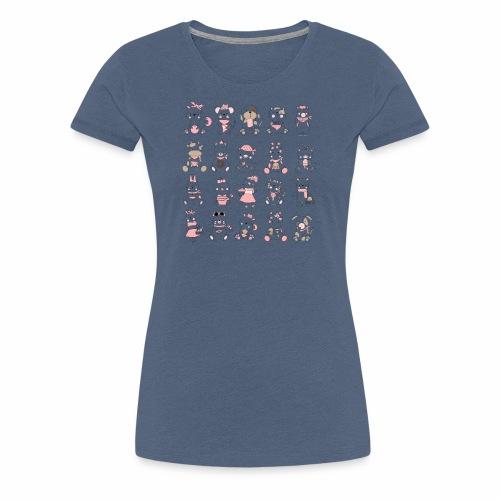 Babytiere - Frauen Premium T-Shirt