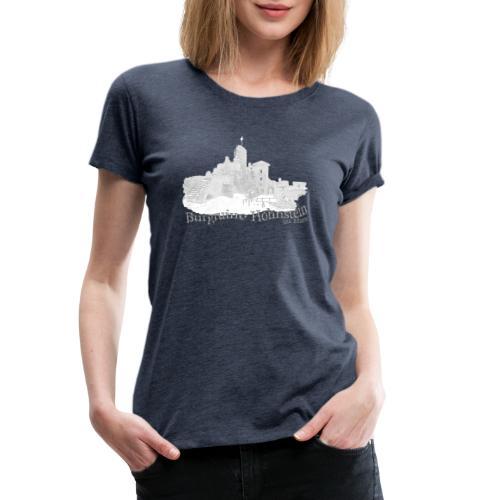 burgruine hohnstein harz 2 - Frauen Premium T-Shirt