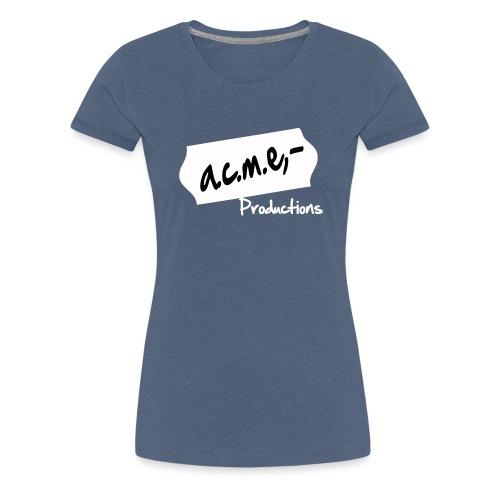 acmeproductionswhite - Frauen Premium T-Shirt