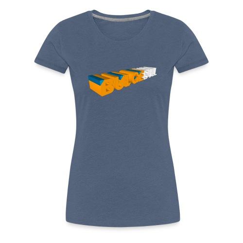 bulgebull logo 3d - Camiseta premium mujer